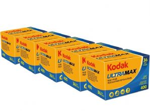 Kodak Ultramax 400 35mm 36exp Pack of 5